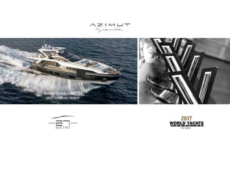 AZIMUT WON 4 AWARDS FROM CANNES YACHTING FESTIVAL!