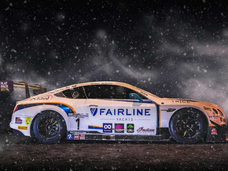 Fairline & Bentrley GT Sponsorship