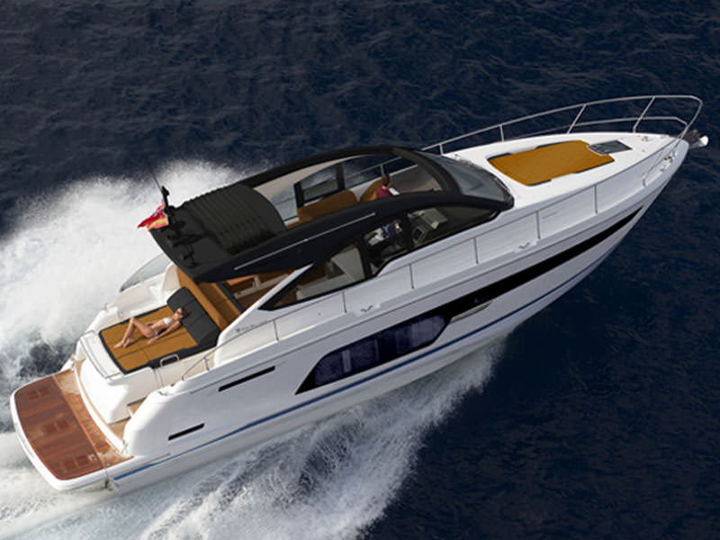 THE NEW 50ft RANGE FROM FAIRLINE YACHTS