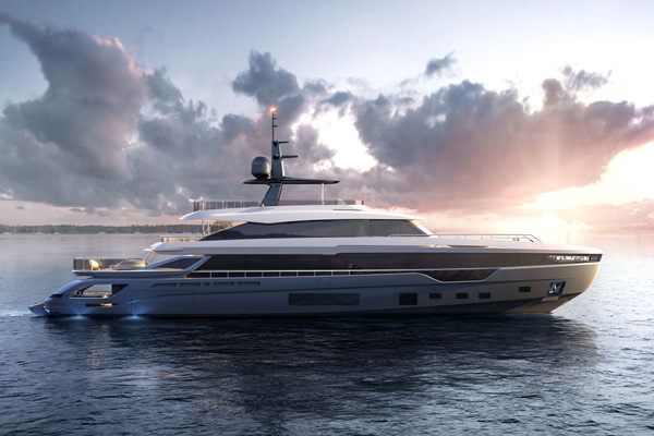 Azimut TRIDECK project